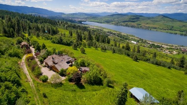 Luxury on the mountain 7616 McLennan Road listed by Domeij and Associates