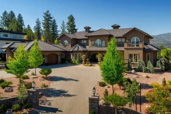 Luxury retreat - Front view of 1035 Westpoint Drive listed by Domeij and Associates