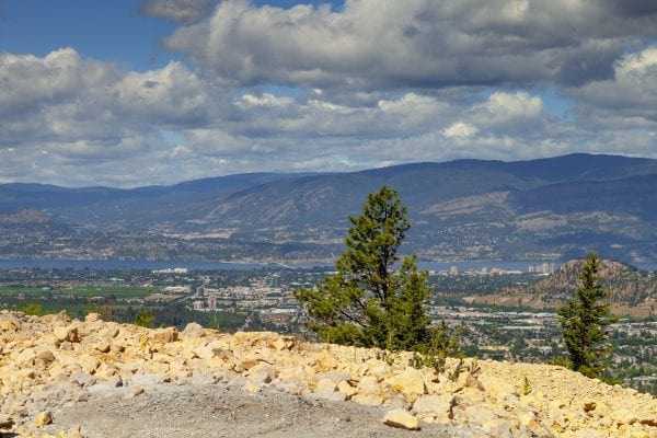 Spectacular view lot Black Mountain 1726 Carnegie Street listed by Domeij and Associates