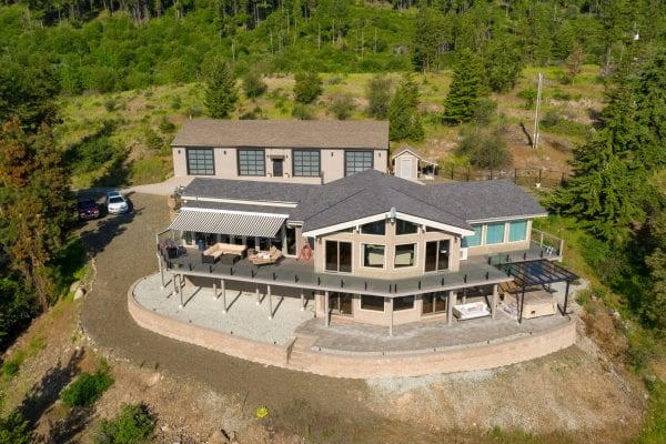 home on acreage 3684 Gates Road listed by Domeij and Associates