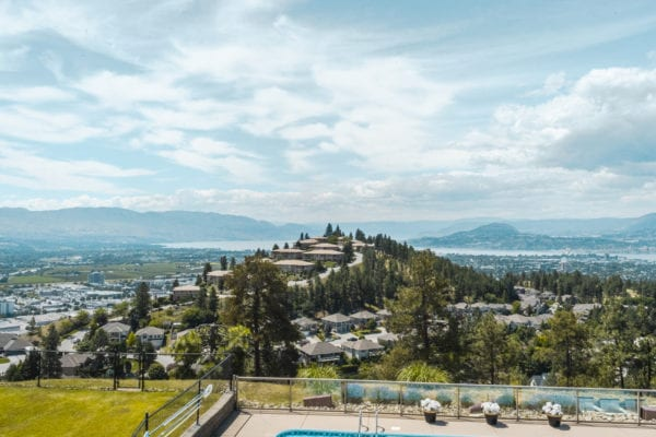 View from 984 Skeena Drive Dilworth Mountain listed by Domeij and Associates