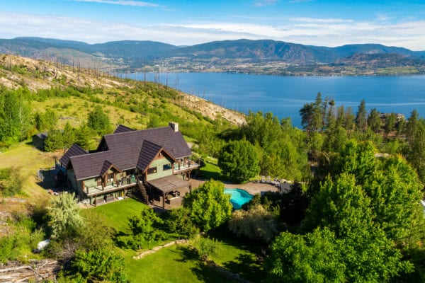 162 Timberline Road acreage Upper Mission Listed by Domeij and Associates